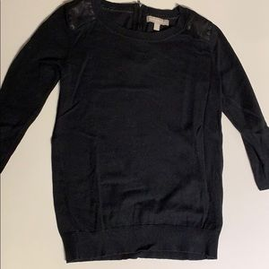 Banana republic knit top black